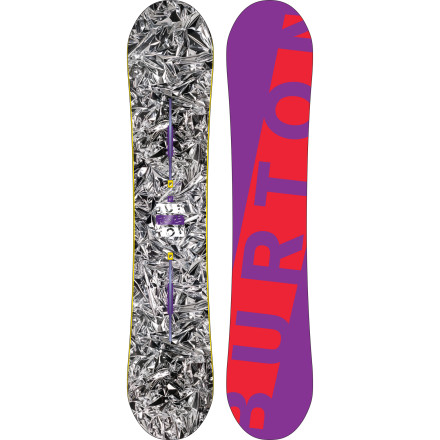 Snowboard Looking for a well-rounded but freestyle-focused board to help you expand your bag of tricks this season The Burton Blender Snowboard combines a soft twin flex and forgiving V-Rocker profile with the stability of Side Effects and Overbite edges for a playful yet rippable ride. - $269.97
