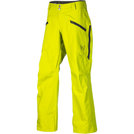 Snowboard Not only is the Burton AK 3L Hover Gore-Tex Pant loaded with more features than a new German luxury sedan, but it offers the fully guaranteed waterproof breathable protection of Gore-Tex 3-Layer Fabric for total impermeability and battle-tank durability. - $245.94