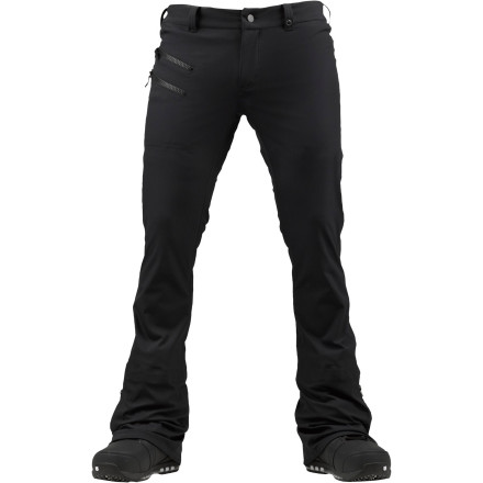 Snowboard With a skinny cut and 15K waterproofing, the Burton Blah Blah Blah Pant from the Shawn White Collection is as functional as it is stylish. The stretch waterproof breathable fabric keeps you dry and moves with you without binding. - $119.94
