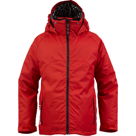 Snowboard With warmth you can appreciate all season and a style you won't tire of half way through the winter, the Burton Boys' Amped Insulated Jacket is definitely worth getting amped over. - $53.96