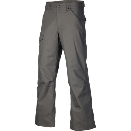 Snowboard The Burton Boys' TWC Throttle Pant brings the style and tech of the White Collection to your sub-adult shredder. DryRide awesomeness and Thermacore warmth keep him comfortable so he can rack up laps and then hike for those last few shots at his favorite jump even after the lifts are closed. - $49.95