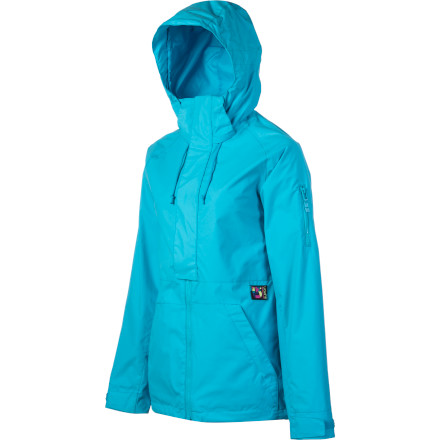 Snowboard The Burton Women's Tula Jacket delivers a chill quasi-anorak feel and total coziness thanks to a Sherpa lining and DryRide Durashell. This jacket is great for layering or shoulder-season days when you want protection from the weather and a great look. - $94.98