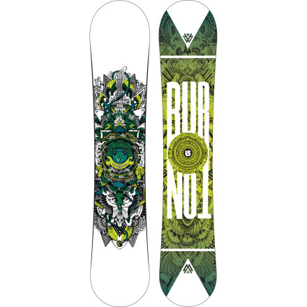 Snowboard The Burton TWC Standard Snowboard is the perfect trick stick for the big-hearted and big-footed novice bent on progression or the established ripper (also big-footed) who prefers directional-tuned performance, pop, and forgiving flex. - $191.97