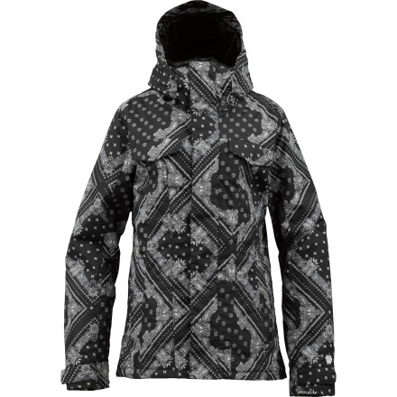 Snowboard Things get a whole lot sweeter when you roll up to the lift line wearing the Burton Women's TWC Sugartown Jacket. This sleek-and-chic shred jacket holds in warmth and seals out precipitation so you can focus on your form. Just don't be surprised if everyone else is focusing on you. - $119.97