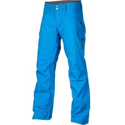 Snowboard Burton made the Fly Women's Snowboard Pant for ladies who shred hard, but have those 'always cold' bodies. DryRide Durashell fabric keeps you dry and Thinsulate insulation maintains warmth, plus it has plenty of room to layer underneath for those extra-chilly days. - $87.48
