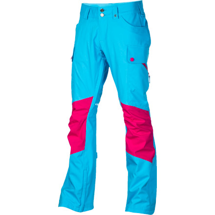 Snowboard Tired of baggy, boxy shred pants but don't want to compromise when it comes to storm-proof performance The Burton Gloria Pant features a stretchy, stylish slim fit with a lower rise and slightly longer inseam, yet still offers blizzard-worthy weather protection. Dryride Nanoshell fabric is engineered at the molecular level to repel water droplets before they can even get to the 15K-rated waterproof membrane, while a stretch taffeta lining adds warmth and a luxurious feel. - $89.98