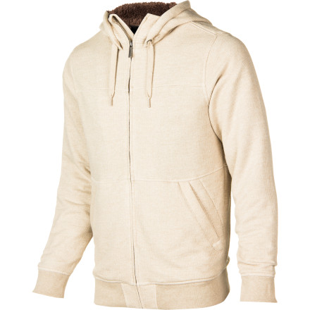 Snowboard Forget the cheapo bargain hoodie. When it gets cold out you're going to wish you wore the sherpa-lined Burton Pitch Full-Zip Hoodie. The lining makes it toasty, and the signature fit lets you layer underneath to take it to the next level. - $63.71