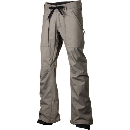 Snowboard The idea behind the Burton Southside Slim Pant is simple; present a streetwear inspired look and jam-pack it full of features like Dryride DuraShell coated 2-layer fabric, fully taped seams, and Burton's pant features package. - $71.96