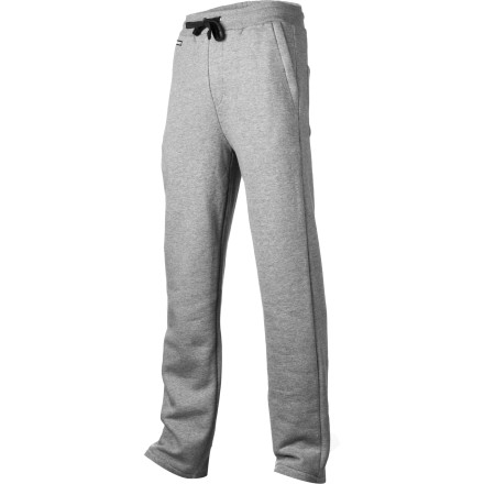 Fitness Everybody needs a good pair of house-pants. Burton's Laid Back Pant keeps you warm and comfortable while you sit at home with the remote and a glass of wine. Zippered front pockets hold your keys or other valuable items while you run to the liquor store to re-supply, and the contrast draw cord keeps any embarrassing moments from popping up on the security camera. - $44.95