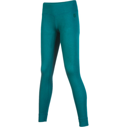 Snowboard Slip on the Burton Women's Luxury Midweight Pant before you pull on your snowboard pants, then get out on the hill and enjoy. With this silky, stretchy long underwear bottom under your shell, you'll stay warm, dry, and ready to stay at the park until the last possible moment before hitting the pub. - $32.97
