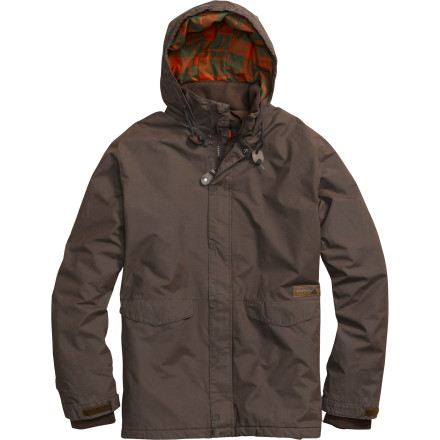Snowboard Drawing from the styling of a hunter jacket and enhanced with shred-worthy features, the Burton Wolf Insulated Jacket works just as well for chopping wood as it does schralping the front-country. - $83.97