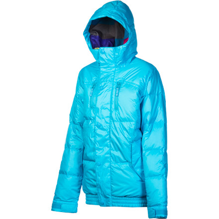 Snowboard Burton pulled no punches in the war against winter when it designed the super-warm Women's Dandridge Down Jacket. The Dandridge is packing a 10K-rated waterproof shell and 550 fill-power down to let you stand up to absolutely anything that mid-January can throw your way. - $114.98