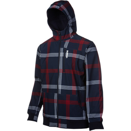 Snowboard The Burton Softshell Hooded Jacket brings casual style with boss-like performance to keep you dry and breathing easy while you're tearing it up. Whether you layer it up or rock it solo, the Softshell Hoodie won't quit. - $89.94