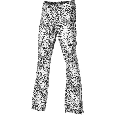 Snowboard The Burton Women's TWC Sugartown  Pant rocks serious fashion-forward style while it protects you from the snow. Slip into these pants when you're bored of shredding in baggies and are ready to show off your stems while you shred. - $99.98