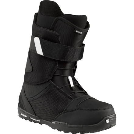 Snowboard Burton designed the Raptor Snowboard Boot for serious all-mountain aggression. It put the Raptor's flex right in the middle so it could attack anything anywhere on the mountain, from the pipe to the backcountry. then it loaded the Raptor with a ton of techy features that will turn a good day of riding into a  great one. - $149.97