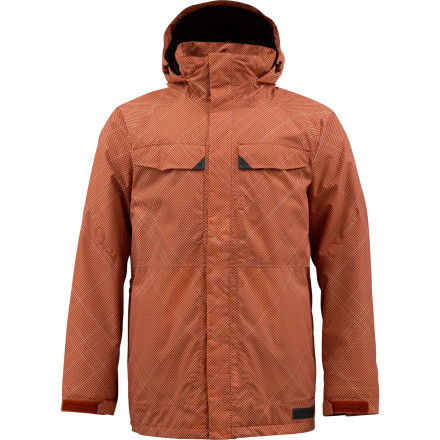 Snowboard Weather the worst of winter in the Burton Breach Insulated Jacket. Thinsulate synthetic insulation makes the unbearable bearable so you can stay out in the steep and deep all day, even when the icy temperatures have turned the snow to billowing cold smoke. - $89.96