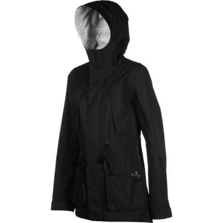 Fitness The Burton Women's 2.5L Hendrix Jacket uses burly DryRide tech to shield you from sudden cloud bursts and surprise water-balloon attacks. Whether you're hoofing it through a Seattle drizzle or heading into an East Coast squall, keep this compact rain slicker handy and be ready when the floodgates open. - $77.97