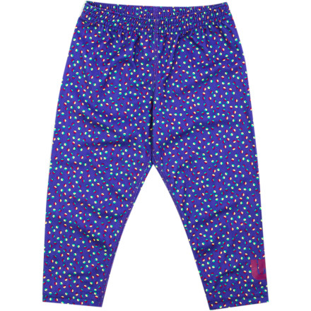Snowboard The Burton Toddler Girls' MiniShred Pant is not only highly breathable, quick-drying, and super-stretchy, but it also fits slightly loose so your little girl can lounge about recovering from a day at on-hill day care and lessons in comfort. - $17.97