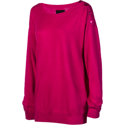 Snowboard The Burton Women's Madrona Sweater keeps you covered with both the warmth and style to make your heart melt. The Madrona manages to be insulating and present a daring style at the same timeif only all sweater could boast such versatility. - $38.97
