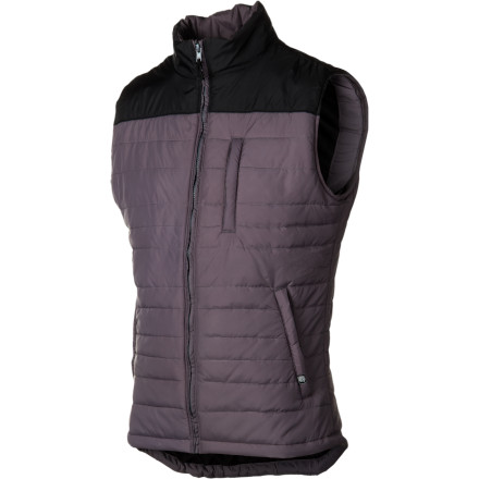Camp and Hike Make your mark on winter without looking like a Chad when you sport the CandyGrind Vest. This versatile, retro-styled vest is one you can be proud of whether you're hiking in the early fall or milking the season for all it's worth in late spring. - $47.48