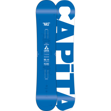 Snowboard The Capita Normal Ass Snowboard keeps you pointed in the right direction with the idea that technology and design should open up areas of the mountain for you to ride, not close them off.  In short, the best ideal is often the simplest; turns out this approach has not only appealed to riders looking to do it all, but has also helped to stack some Good Wood awards from Transworld Snowboarding Magazine. - $227.97