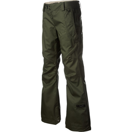 Snowboard With a slimming, boot-cut shape and micro-fleece-lined seat, waist, and fly, the Cappel Wasted Shell Pant looks flattering and still offers enough room to add a layer on the extra-cold days. - $87.98