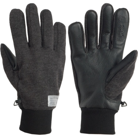 The Ruble Touchscreen Gloves feature Celtek's patented TouchTec leather, designed to allow dextrous touchscreen use without removing your gloves. Now you can take calls, switch your playlist, download apps, and more without subjecting your precious phalanges to the elements. - $22.48