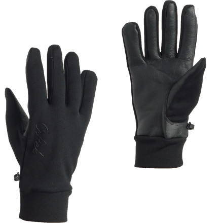 The Celtek Sol Touchscreen Glove offers reliable windproof protection with a cozy tricot lining. However, the really important part is the revolutionary TouchTec leather palm and fingers that allow uninhibited use of your phone, music player, or tablet. - $24.98