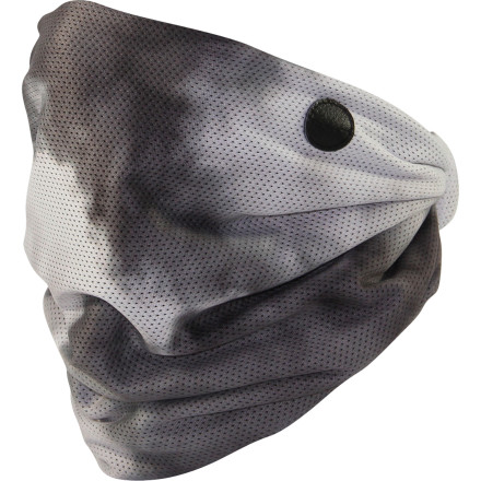 Unlike normal cotton bandanas, the Celtek Diamond Facemask features breathable, quick-drying nylon mesh and micro-fleece backing fabric that won't get frozen and clammy after an hour of riding. - $8.97