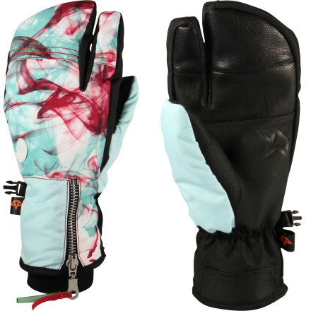 The Celtek Hello Operator Mitten provides the warmth of a mitten with the dexterity of a glove so your hands stay warm and you can actually use them. The tough nylon shell will last for years of riding and the synthetic insulation will keep your hand warm even if it gets wet. - $29.97