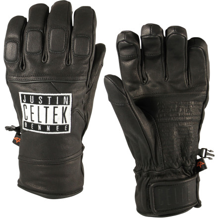 Snowboard From pow to park, the Celtek Aviator Snowboard Glove flies anywhere. Featuring an OutDry waterproof membrane to keep moisture out and a durable leather shell to help you hold your grabs, the Aviator is the go-to glove for riders as diverse as Justin Bennee and Bjorn Leines. - $47.97