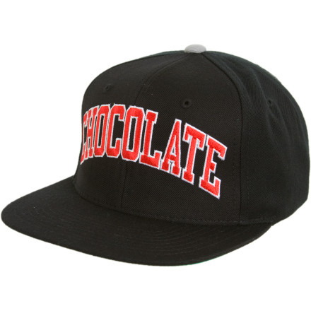 Skateboard The Chocolate Starter Hat is for people who start things that seem to have no end, like skateboarding. You won't stop unless you're incarcerated, dead, or tied up in some weird hotel room by a chick you found on the Weird Wide Web. - $17.84