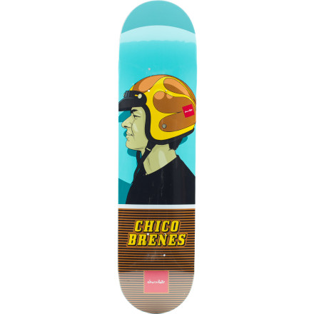 Skateboard No mystical powers, no space-age additives, no hijinxyup, the Girl Lids Skate Deck has no secrets to put a lid on, just the natural pop of quality maple and a versatile shape fit for park, street, or just pushing. - $34.97