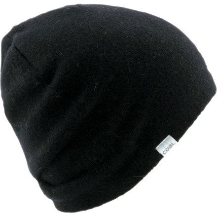 Entertainment The best-selling Coal Considered Taylor Beanie cuts to the chase for relaxed style and warm comfort without the obnoxious side effects like spectacular hat hair or crushed ears. Back pleats help you nail that sought-after slouchy look. - $44.95