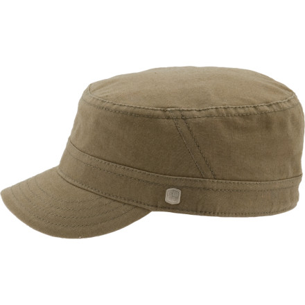 Pop on the Coal Considered Randle Hat, and pull down the pre-curved brim for some privacy. Coal made this military-style cap out of organic cotton, which makes it the greenest cap this side of enemy lines. - $24.47