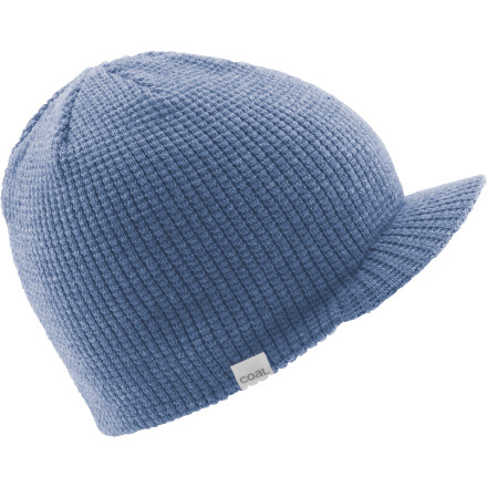 You'll feel invincible in the face of winters coldest, most biting days while you're wearing the Coal Staple Brim Beanie. This toasty warm waffle-knit badboy even has a brim so your baby blues won't get toasted by the midwinter sun. - $17.47