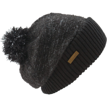 Pull on the Coal Women's Lily Pom Beanie and slide into your favorite rocking chair with a hot beverage in hand on a chilly fall morning. A thick, rolled brim keeps your ears toasty-warm from Jack Frost's bite while the lightweight top helps the top of your head stay comfortable without overheating. - $17.97