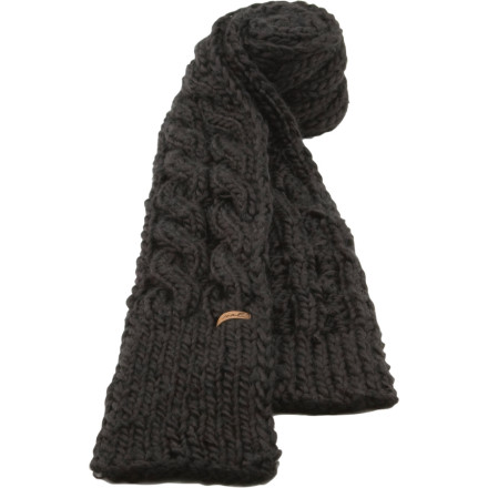 We're not sure what makes the sensationally warm Coal Women's Rosalita Scarf more appealing, the hand-knit construction or the cable-knit pattern. Either way, this thick, smooth scarf wraps beautifully around your neck by itself or coupled with your favorite winter beanie. - $23.97