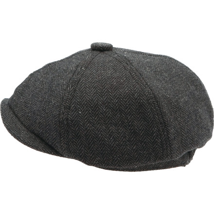 Entertainment Extra, extra, read all about it. The Coal Considered Newsie Hat is the quintessential newsboy hat. - $27.97