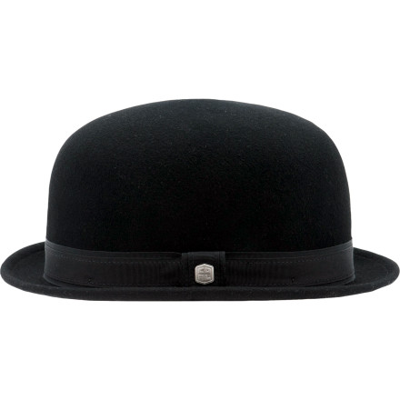 The Coal Considered Quinn Bowler Hat is a modern take on a true classic. Authentic wool felt and a satin lining give this headpiece timeless style and a smooth fit. Wear this hat when you want to add a little fun to your look or when you just want to slip back to a time when the world was both simpler and soaked in gin. - $56.97