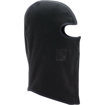 "The Coal B.E.B. Balaclava will shift your focus from ""Holy crap it's cold out here,"" to ""Wow, this snow is epic!"" Coal doesn't call it the Best Ever Balaclava for nothin'. Thanks to flat seams and soft fleece, the Coal B.E.B. feels so comfortable that you'll forget it's on until the cashier at the gas station thinks you want a lot more than a coffee for the drive home. - $17.47"