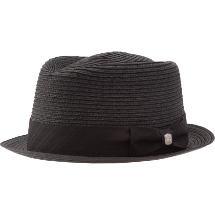 Skateboard The only better place for straw than your moth is your head. From Coal's Considered line comes the Landon Fedora, ideal for lazy summer afternoons spent chucking rocks at the abandoned warehouse or raiding ice cream trucks. A classic fedora shape keeps you smooth over dinner or back-alley skateboard adventures. - $44.95