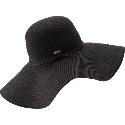 As the saying goes, 'go big or get the hell off the beach.' The pleasantly large Coal Women's Considered Seaside Hat provides many square inches of delightful paper straw coverage for a unique style that keeps you cool in the hot sand. - $44.95
