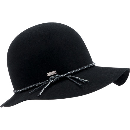 Luxuriate in high-class fashion with the Coal Considered Women's Simone Hat. The authentic wool felt and playfully artistic shape give you a look that's sophisticated and light. - $65.97