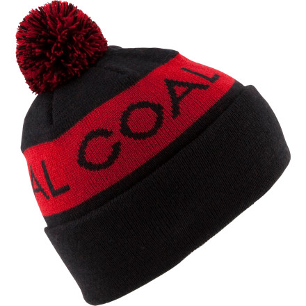 Entertainment Pull on the Coal Team Beanie and become an exclusive member of the Coal team, an intriguing group of stylehounds whose headwear reflects their progressive personalities. This pom-pom beanie satisfies your craving for old-school fashion, and the plethora of colors appeal to the entire Coal crowd. - $11.97