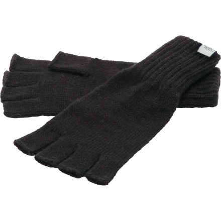 In the city or on the farm, the Coal Connors Fingerless Glove gives you the warmth and dexterity to manipulate important objects in your life. Finely woven acrylic feels silky soft against your skin as you pump your hand up and down in smooth, rapid-fire succession ... eventually that blown tire will hold air, push harder. - $11.96