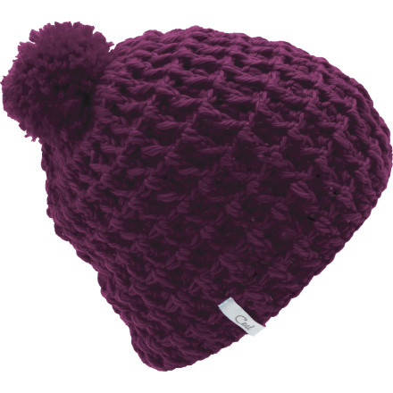 Snowboard After all those crochet and shuffle-board lessons with grandma, you've come to appreciate warm hats like the Coal Women's Waffle Beanie. Sized to fit your head without too much sag, this silky smooth acrylic lid will keep you toasty warm next time you have to help Ms.Gunderpants cross the street with her six cats and three miniature poodles. - $17.97