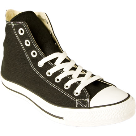 Entertainment When you do your next reverse lay-up make sure youre rocking the Converse Mens Chuck Taylor All Star Hi Shoes. Pickup games will take on a throwback style that only short-shorts and knee-high socks could equally invoke. Now you just need to perfect your hook-shot. - $39.96