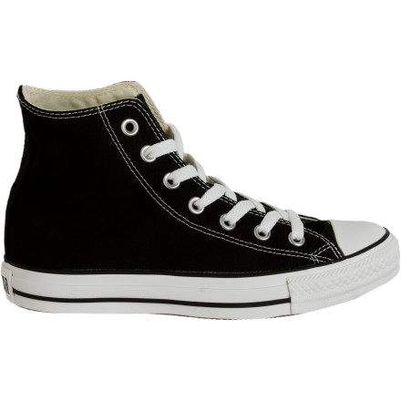 Entertainment Youre a sucker for the classic look of the Converse Womens Chuck Taylor All Star Hi Shoe. Well that classic look just got a little better. Converse slimmed down the shoe and gave it a lower profile for a more feminine aesthetic. Looks like perfection can be improved on. - $39.96