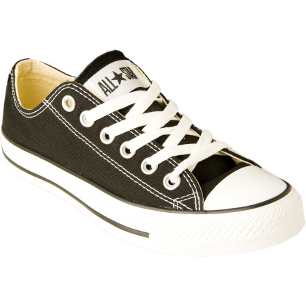 Entertainment The Converse Womens Chuck Taylor All Star OX Shoe is sure to be your go to casual sneaker for doing whatever. Whether its a night out on the town with your girlfriends or heading to work the night shift, you can be sure theses sneaks will treat you right. - $42.46